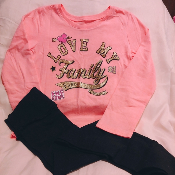 NWOT toddler girls outfit